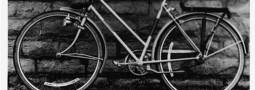 Steel Frame Bicycle | Black and White Photography